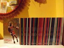 OPERA COMPLETA 40 LIBRI BOOKS VOLUMI LE STELLE DELLA NBA AI RAGGI X BASKET