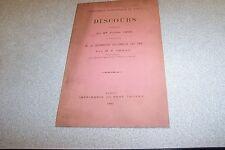 DISCOURS PRONONCE LE 27 JUILLET 1893 A L OCCASION SOLLENNELLE DES PRIX MP GENAY
