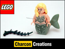 LEGO Pirates of the Caribbean: Green Mermaid minifigure - Split from 4194 (NEW)