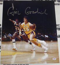 Gail Goodrich Signed Lakers 16x20 Photo PSA/DNA COA Autograph Picture HOF #25