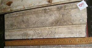 Antique Marble Lintel pediment cornice Architectural fragment #8