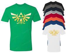 The Legend Of Zelda T-shirt Triforce logo Shirt Nintendo Gamer Video game tees