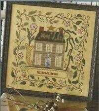 MILDRED'S GARDEN HOUSE--Flowers--Blackbird Designs--Counted Cross Stitch Pattern
