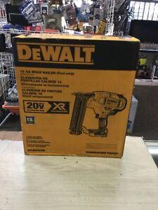 DEWALT 18 GA Brad Nailer 20V BRUSHLESS (Tool Only)