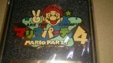 Nintendo Mario Party Pin Badge official prize champion