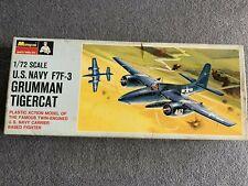 Monogram U.S. Navy F7F-3 Grumman Tigercat Model Kit - 1/72