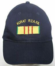 Korat Rtafb Royal Thai Air Force Base Hat Otto Navy Blue Strapback Baseball Cap