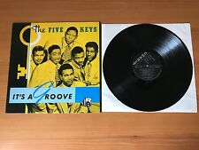 "THE FIVE KEYS - IT'S A GROOVE - NEAR MINT UK 12"" VINYL LP CRB 1040 - PRO CLEANED"