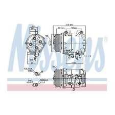 Fits Honda Accord MK8 2.0 Genuine OE Quality Nissens A/C Air Con Compressor