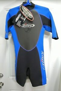 Tilos Men's 2mm Shorty Wetsuit, ML Medium Large Scuba Dive 2 mm Neoprene  Short