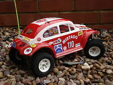 Kamtec LEXAN BAJA VW Beetle Sand Scorcher Monster Tamiya 1:10 Car Bodyshell 046