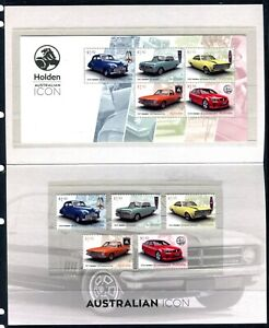 2021 Holden An Australian Icon Post Office Pack With Stamps & Mini Sheet
