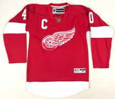 Detroit Red Wings Reebok Hockey Jersey Henrik Zetterberg Medium Captain Stitched