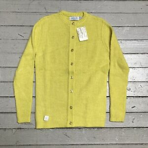 Vintage lemon yellow half sleeve sweater.