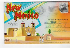POSTCARD FOLDER-NEW MEXICO