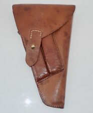 Wwii Finnish / Swedish Leather Lathi Holster & 2 Magazines Excellent Condition!