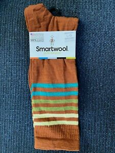 Smartwool Mens Spruce Street Merino Wool Crew Non-Cushion Socks Large Lightweigh