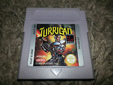 Turrican Nintendo Gameboy Game Cleaned & Tested