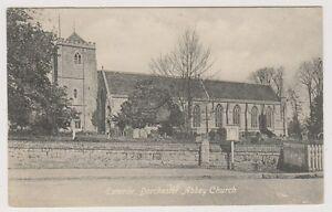 Oxfordshire postcard - Exterior, Dorchester Abbey Church (A209)