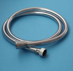 C-flex 1.2m shower hose resistant to high pressure for Douche, Shattaf - chrome