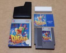 Digger T. Rock ( Nintendo Nes ) UK European Version PAL
