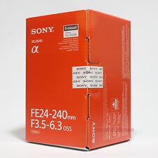 Sony FE 24-240mm F3.5-6.3 OSS Lens SEL24240