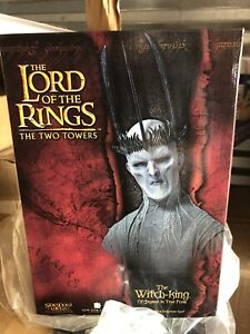 WITCHKING OF ANGMAR BUST STATUE SIDESHOW BRAND NEW LORD OF THE RINGS LOW # 1