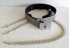 Sir Knight Sword Belt With Barrel Chains
