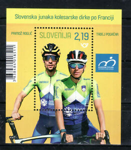 Slovenia 2020 MNH cycling Tour de France winner Tadej Pogacar Primoz RoGljic
