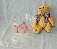 """Merrythought 10"""" Appearance Bear Vintage Signed Mohair"""