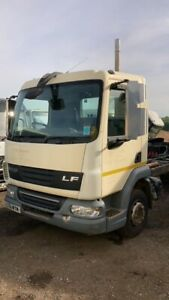 DAF LF45.160 2011 12TON CHASSIS CAB VERY LOW KMS SEMIAUTO 3 SEATS AIR SUSPENSION