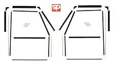 2 Front Door Window Channel Felt Guide Seal Kit for Land Rover Defender 90 & 110