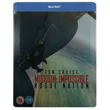 MISSION IMPOSSIBLE: ROGUE NATION STEELBOOK BLU-RAY REGION B &