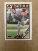 1988 Topps #725 Mike Boddicker ORIOLES MINT
