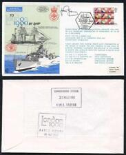 C70b To London by Ship 1980 Signed by Lt Cdr Gardner (C)