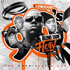 DJ TY BOOGIE - 90's BLEND TAPE FLOW (MIX CD) 90's HIP-HOP AND R&B BLENDS