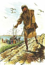 """Reprint - """"A Sower Went Forth To Sow"""" By Richard Hook - On 11"""" X 17"""" Card Stock"""