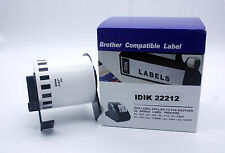 62mm x 15.5m 2-3/7'' Continues Roll Label For Brother DK-22212 DK2212 QL-720NW