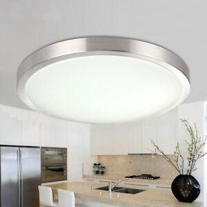24W LED Außen Decken Leuchte rund Terrassen Beleuchtung Badezimmer Feucht Lampe