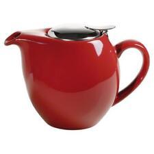 Teekanne INFUSIONS T mit Sieb für 1000ml rot Porzellan Maxwell & Williams