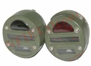 Cat Eye Tail Light Pair Prestolite Military For Jeeps Willys Ford MB GPW ECs