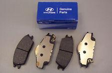 Genuine Hyundai i20 Front Brake Pads - 581011JA10