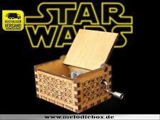 STAR WARS Titellied Spieluhr Musikuhr Musicbox Spieldose Neu Fanartikel Theme