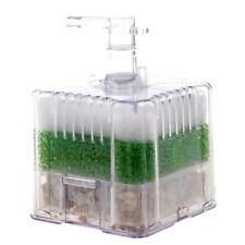 New XY-2011 Air Driven Biochemical Bio Corner Sponge Filter for Aquarium Fi G5U3