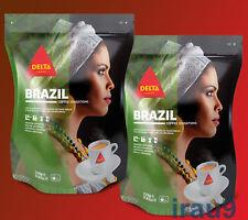 Delta Brazil Ground Coffee , Portuguese, Tropical blend 2x 220g Intensity 6