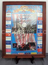 "18"" x 24"" Framed 24th Annual ABATE Poster Autographed Sonny Barger Hell's Angel"