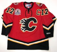 JAROME IGINLA 2004 CALGARY FLAMES STANLEY CUP CCM JERSEY XL