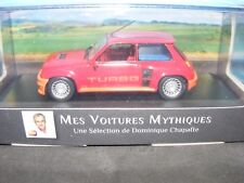 Renault 5 Turbo 1981 Mid Engine model  in Red  Atlas Editions.  1:43rd New item