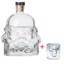 Stormtrooper Star Wars Decanter Skull Glass Cup Set Drinks Beer Wine Bottle Mug
