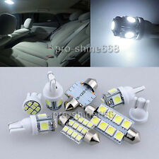 12pcs Premium LED Interior SMD Bulbs Package Kit White FIT Renault Megane 3